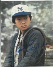 Jonathan Ke Quan - Indiana Jones signed photo
