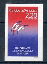 STAMP / TIMBRE DE ANDORRE NEUF N° 376 ** NON DENTELE / REVOLUTION COTE 36 €