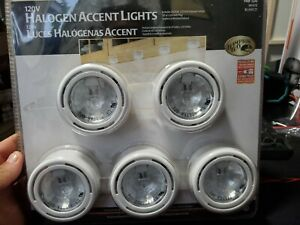 HAMPTON BAY 5 LIGHT KIT HALOGEN ACCENT LIGHTS 148-120  NEW UNOPENED PACKAGE