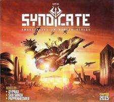 SYNDICATE 2015 = Angerfist/Dyprax/BMG/Heart/Golpe/Sonik...=3CD= HARDCORE GABBER