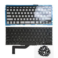 "New US Keyboard Backlight for MacBook Pro Retina 15"" A1398 2012-2015 Screws"
