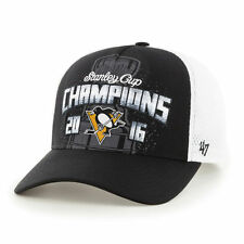 NHL Pittsburgh Penguins Stanley Cup Champions Hat Cap 47 Brand