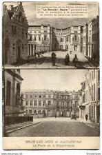 CPA - Carte postale -Belgique - Bruxelles d'Hier à Aujourd'hui -Bibliothèque