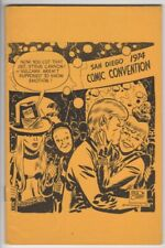 "1974 #5 SDCC Program Milton Caniff Steve ""Spock"" Canyon cover VF+ NOW 20% LOWER!"