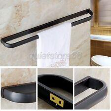 Black Oil Rubbed Brass Bathroom Hardware Accessory Single Towel Rack Bar qba192