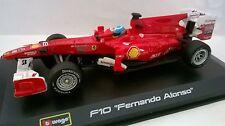 BURAGO RACING 1:32 AUTO FERRARI F10 FERNANDO ALONSO  ART 18-46810