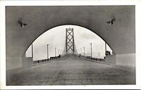 Vtg 1920's Oakland Bay Bridge, San Francisco California CA Postcard g4525