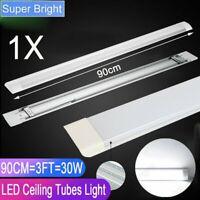 3FT LED Batten Tube Light Shop Light Workbench Garage Ceiling Lamp Home Office
