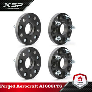 4X20MM For Lexus Hubcentric Wheel Spacers Adapters 5x4.5 5x114.3mm 12*1.5 Studs