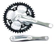 ETC MTB Bike Bicycle Alloy 42/32/22t Triple Chainset 175mm Crank Arm ECW040