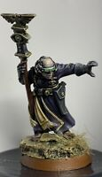 GW Warhammer 40k Imperial Guard Wyrdvane Sanctioned Psyker Well Painted & Based
