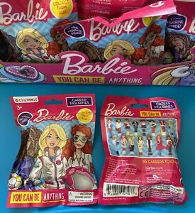 Career Barbie Mini Figures Blind Bags, Career Figurines, SET OF 2! NIP!