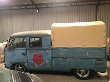 Heavy Duty waterproof cotton Canvas VW (T1) T2 Splits Double Cab 1950-1967 C9651