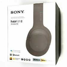 Sony h.ear on 2 Wireless WH-H900N Grayish Black Headband Headset