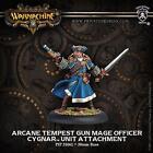 Privateer Press Warmachine Cygnar Arcane Tempest Gun Mage Officer PIP 31061