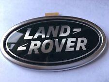 Land Rover Defender 110 V8 TDI Bonnet Badge Decal Étiquette Gravé Nickel MUC2003