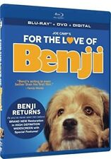 FOR THE LOVE OF BENJI New Sealed Blu-ray + DVD