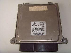 MERCEDES E CLASS W207/W212/CLS W218 ENGINE ECU A6519000503 (2013)
