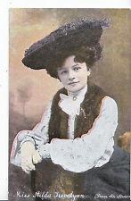 Actress Postcard - Miss Hilda Trevelyan - 1877 - 1959    DR329