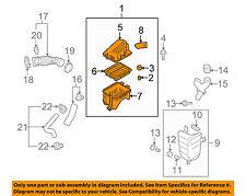 Chevrolet GM OEM 04-08 Aveo Air Cleaner Intake-Filter Box Housing 96814238