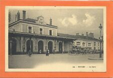 CARTE POSTALE ANCIENNE NEVERS (NIÈVRE - 58) LA GARE