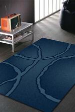 Blue Modern Rug Large Floor Mat Carpet 230 x 160 FREE DELIVERY Eliza 9621