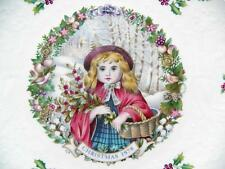 Vintage 1978 Royal Doulton Christmas Plate w/Poem Excellent-Mint Free Shipping!