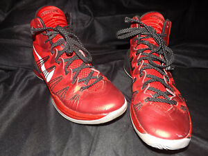 NIKE Hyperdunk 2014 Mens Basketball Shoes 599537-602 Bright Red / Black Size 10