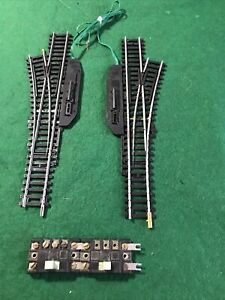 HO Steel Switches And Controls Bachmann 1l 1r  (HO9742)