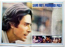 SAMI FREY => Coupure de presse 2 pages 1978 / CLIPPING