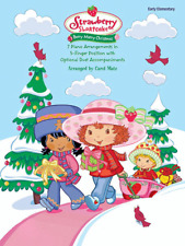 Strawberry Shortcake-Berry Merry Christmas-Music Book-5 Finger Piano-New On Sale
