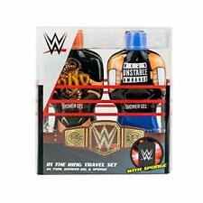 WWE Wrestling In The Ring Toiletries Travel Set Shower Gel & Sponge Gift Set