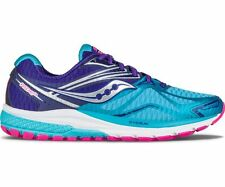Saucony Women's Ride 9 Road Running Shoes Navy/Blue/Pink Sizes 6.5-11 (M)