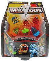 NanoVerse Collector Pack Ages 6+ Warrier Fight Spinner Play Robot Boys Battle