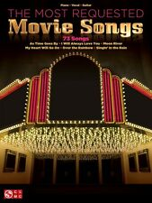 The Most Requsted Movie Songs Sheet Music Piano Vocal Guitar SongBook  000102882
