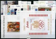 MONACO ANNEE 1998 COMPLETE TIMBRES NEUFS XX - LUXE