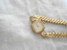Vintage ladies caravelle  gold tone watch  m8