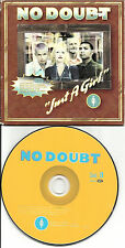 Gwen Stefani NO DOUBT Just a Girl w/ VIDEO LIMITED Carded Sleeve USA CD single