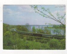 Train Corail Reliant Bordeaux a Toulouse France 1989 Postcard 457a