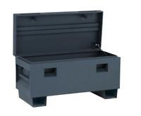 Job Site Box Tool Storage Truck Bed 36 in. Jobsite Matte Gray Rust Resistant