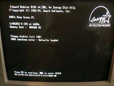 Cx486dx2-s 40mb Crescent Desktop Cyrix  66mhz Vintage Retro Working Desktop