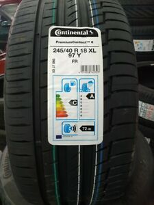 CONTINENTAL PREMIUM CONTACT 6 CAR TYRES 245/40 ZR18 XL 97Y 245 40 18 2454018 C+A