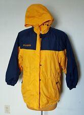 Columbia Winter Jacket Coat Womens Small Yellow and Blue RN 69724 Runs Large