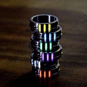 20mm Titanium Alloy Tritium Tube Tritium Gas EDC Luminous Rings Creative Gifts