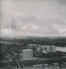 RHIN c. 1950 - Port Pétrolier Esso BP sur Le Rhin  Haut-Rhin DIV 4818