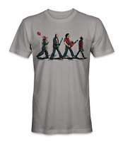 IT Jason freddy krueger michael myers group t-shirt