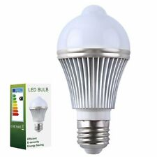 Motion Sensor Bulb Led, E27 PIR Infrared Dusk to Dawn LED Light Bulb - Detection