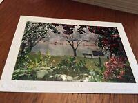 Custom made Christmas greeting card w envelope by Linda coatsworth - new