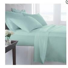 = 1800 Series Luxurious Sheet Set 4 Piece King Size Bedding Sheet Set Mint