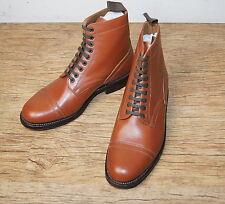 New Grenson Frank Vintage Italian Goodyear welt Military style Boots UK 7  £230